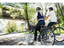 Årstafältet satsar på cykling