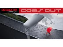 Exaktor goes out-Logo