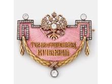 Fabergé, nobelbrosch. Slutpris: 1 225 000 SEK
