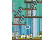 Digitalt spel med Max och Bob