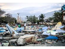 Indonesien efter jordbävningskatastrofen