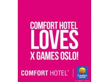 Comfort Hotel er X Games Oslos hotellsamarbeidspartner.