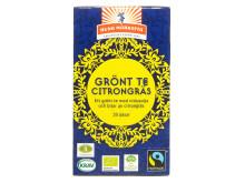 Grönt te Citrongräs Krav Fairtrade Äkta Vara