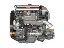 Hi-res image - YANMAR - YANMAR 3JH40 common rail inboard marine diesel engine