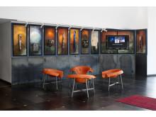 Glashotellets lobby är smyckad av Bertil Vallien