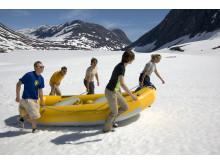 Snowrafting – ungewöhnliches Rahmenprogramm