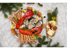 Smådalarö Gårds skaldjursbord