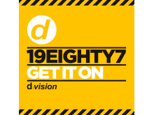 19EIGHTY7 - Get It On omslag