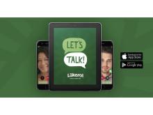 Let´s Talk - språkträningsapp från Läkerol