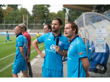 Bosse beim Viva con Agua ALLSTARS Fußballturnier