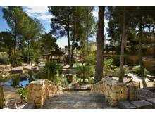 Akinon Resort, uteområde.