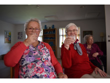 Efter erindringsdansen: Tid til et lille glas bobler