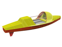 Image - Ocean Signal - A rendering of the Antrim-designed ocean rowboat to be built by James Betts Enterprises for Lia Ditton