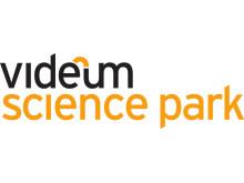 CMYK/EPS Logo för Videum Science Park