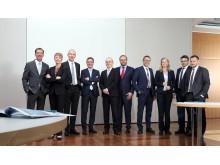 Barmenia-Nachhaltigkeitsbeirat mit -Vorstand (Foto vom 30.04.2019)