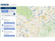 Iveco er over hele verden med den nye forhandler-lokaliseringen