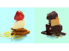 Jordgubb och Choklad är två smkaer som tar passagerarna till nya höjder under SAS långflygningar
