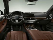 BMW X5 xDrive45e iPerformance_ohjaamo