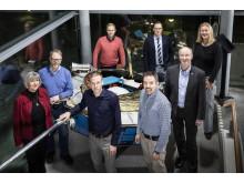 Delar av projektledningen för RIT 2021, som leds av Luleå tekniska universitet.