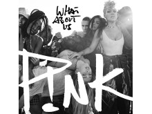 "P!NK - ""What About Us"" singelomslag"
