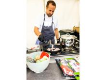 Andreas Paulsson, kock, restaurang Creo