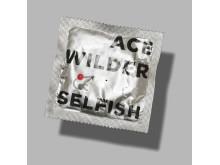 """Ace Wilder, """"Selfish"""" - Omslag"""