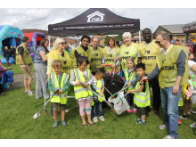 Litter PIck at Possilpark Gala Day