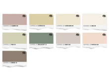 Trend 15 Färgkarta för väggfärg (pastlar för beyond dreams)