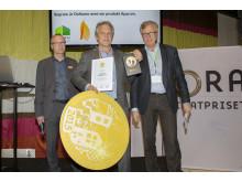 Vinnare av Nordbyggs guldmedalj 2015, årets hetaste produktnyhet .