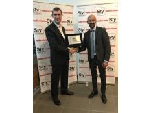 STY 2018 award handover.