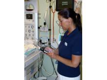 Integrerade system på BB Sophia med larm direkt till personalens telefoner
