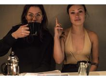 Nadja Chatti och Johanna Schneider (Esperanto Music). Foto av Izabella Englund