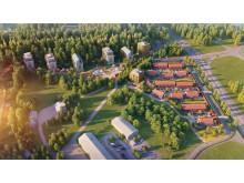 Eko-logi räknas som ett av landets mest hållbara bostadsområden