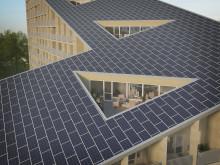 Takterrasser och sluttande tak mot sydväst med möjlighet till solceller