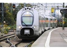 SJ regionaltåg vid station
