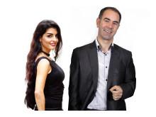 Natasha Bank & Ali Ghertasi från Firend.