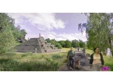 Ny mötesplats vid sjön Trummen