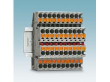 Strømindikatorklemmer med push-in-tilkobling