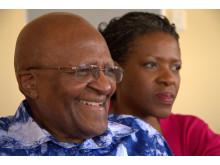 Desmond og Mpho Tutu.