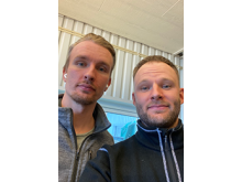 Adam och Tim Tranberg