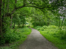 Offa's Dyke, Central.  Glyndwyr's Way