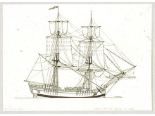 Mercurius var likt fartyget Gustaf Adolph en snaubrigg.