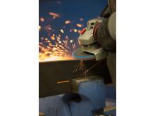 Flexovit Lamellrondell Industrial Line HD - Användning