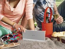Loewe Speaker 2go er en Bluetooth højttaler, der også fungerer med NFC.