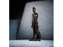 """Redsel"" av Gustav Vigeland. Fra vandreutstillingen Gustav Vigeland. Angsten står i sofaen"