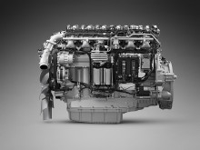 13-liters gasmotor