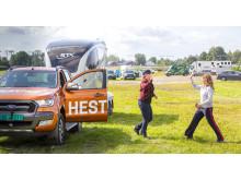 Hest360FordChallenge Ryggekonkurranse Øvrevoll Märtha Louise med Anne Lene Øysæd fra Sandnes, Rogaland.25.08 2019