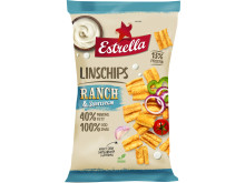 Estrella Linschips Ranch & Sourcream 2018