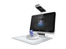 Sprout by HP with 3D Capture Stage, Completed Capture Screen, Left facing HP20150921875