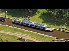 Image - Fischer Panda UK - Solar electric narrowboat Shine